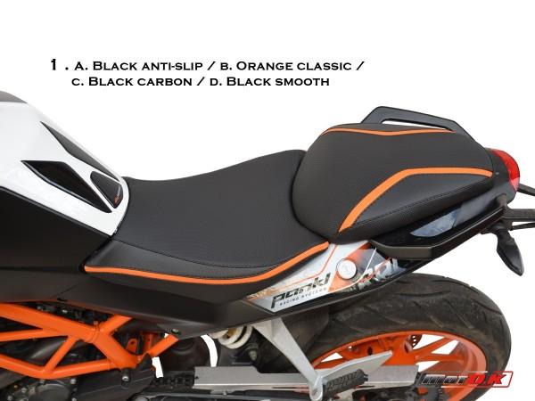 Seat cover for KTM Duke 390/200/125