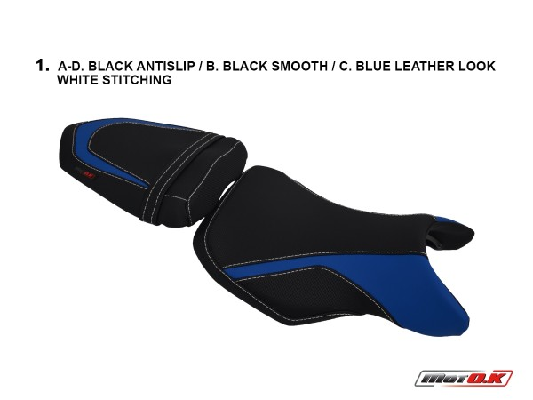 Seat Covers for Suzuki GSR 750 ('11-'16) ABS