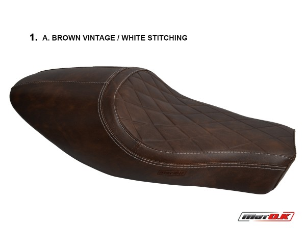 Seat cover for Ducati SCRAMBLER ('17-'18) (Cafe Racer)