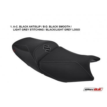 Seat covers for Suzuki Bandit GSX 650/1200/1250 (05-09)