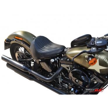 Cafe racer seat for Harley Davidson