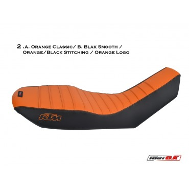 Seat cover for KTM 950/990 Adventure (low seat)