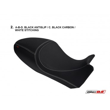 Seat cover for Ducati  DIAVEL CARBON 1200 (2011)