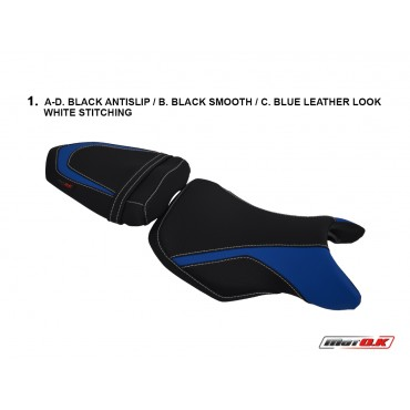 Seat Covers for Suzuki GSR 750 ('11-'16) ABS
