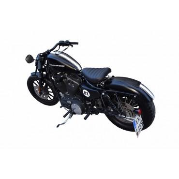 Bobber seat for Harley Davidson