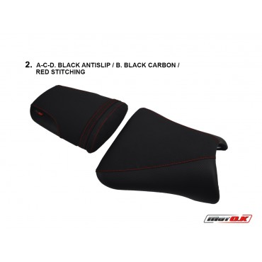Seat covers for Kawasaki ZX-9R ('01-'02)