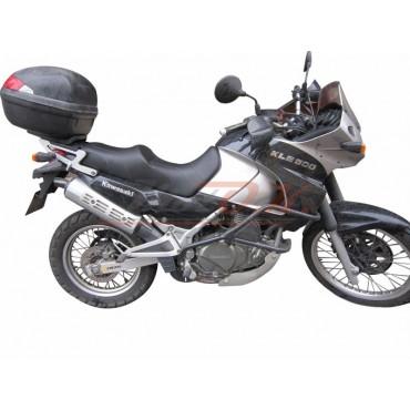 Comfort seat for Kawasaki KLE 500