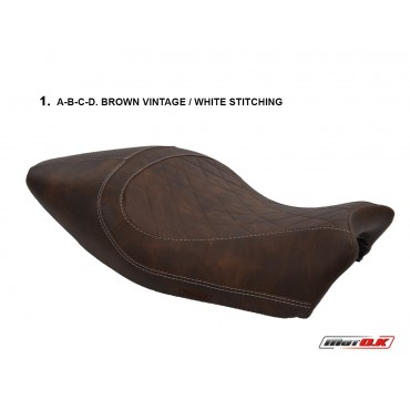 Seat cover for Ducati MONSTER 821/1200 (14-16) (Café Racer)