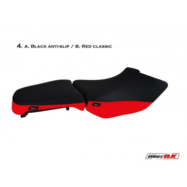Seat covers for BMW R1200 GS adventure (04-13)