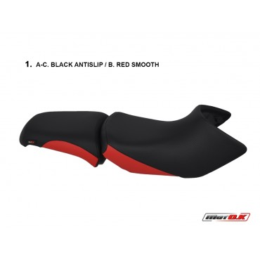 Seat covers for BMW R1200 GS (rally) (04-13)