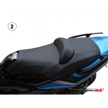 Seat covers for Yamaha T-max 500/530 (08-11) WITH PRINTED LOGO