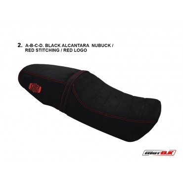 Seat Cover made of Alcantara fabric (Genuine Leather Nubuck) for ΥΑΜΑΗΑ XSR 900